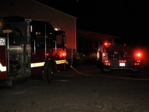 SETFA (Yelm & Rainier) fire engines respond to 4th of July holiday weekend fire.