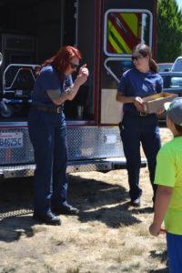 Fun Day rescue truck